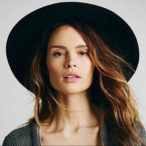 Free People Embellished Matador Wool Hat